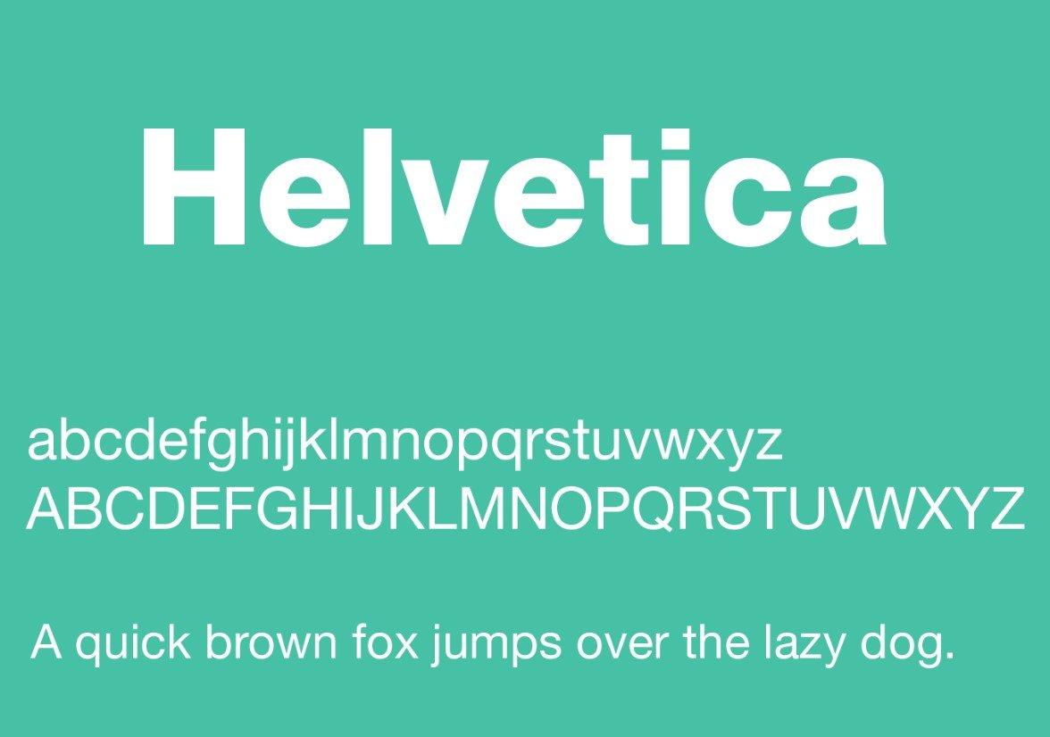 Helvetica Font 1 - Helvetica Font Free Download