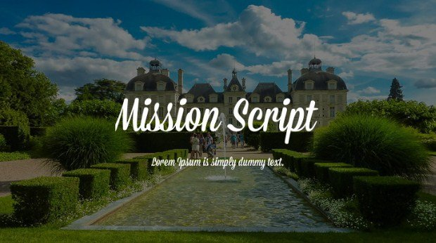 Mission Font