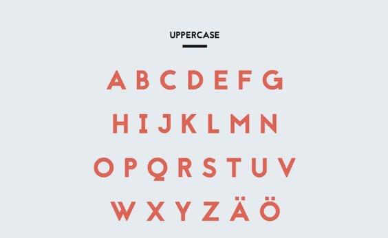 Sand Serif Font