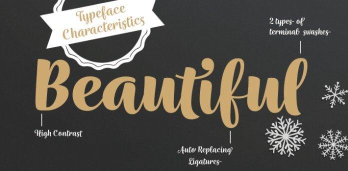 wreath font