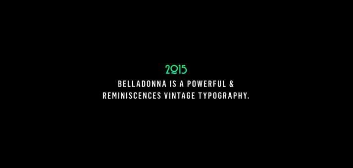 Belladonna Font - Belladonna Font Free Download