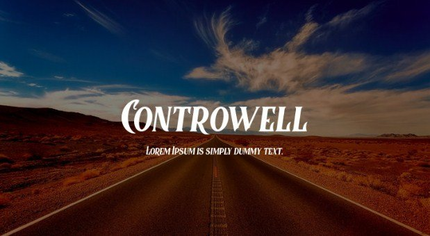 Controwell Victorian Font