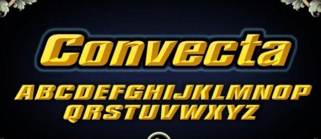 Lhf Convecta Base Font