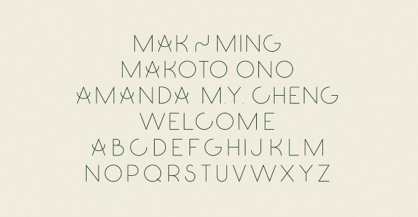 Ming Font