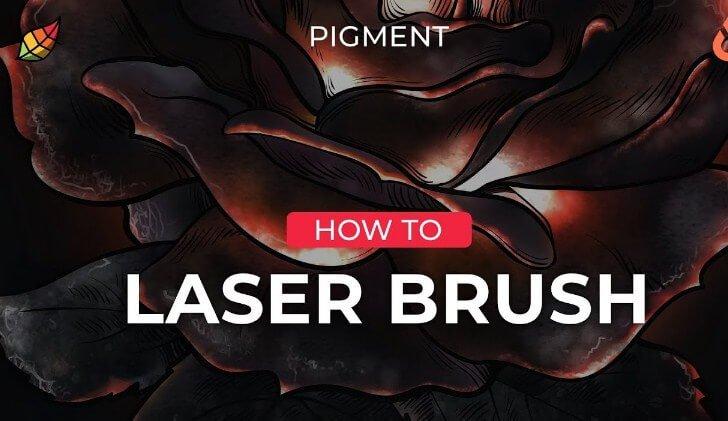 Lazer Brush Font