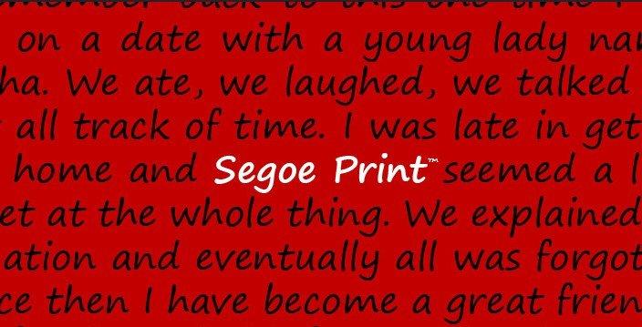 Segoe Font