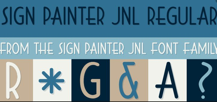 Sign Painter Font