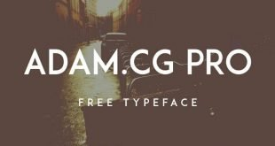 adam cg pro font 310x165 - ADAM.CG PRO Font Free Download