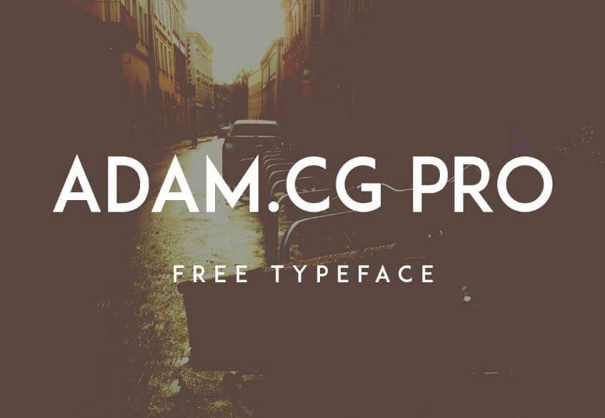 adam cg pro font - ADAM.CG PRO Font Free Download