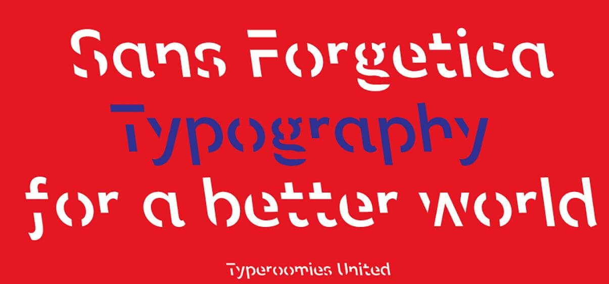 san forgetica font - Sans Forgetica Font Free Download
