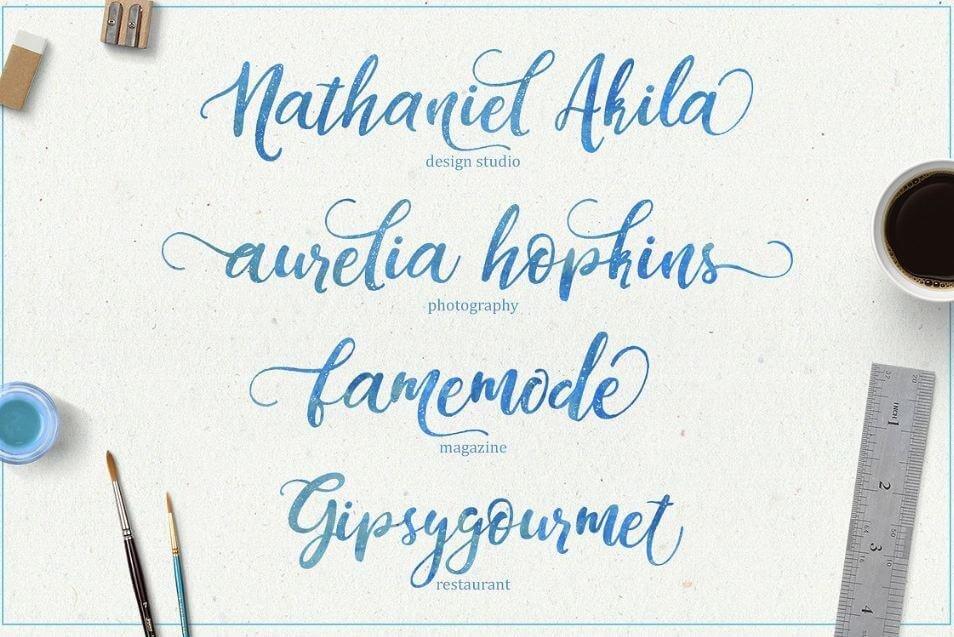Dandelion Font - Dandeleón Script Font Free Download