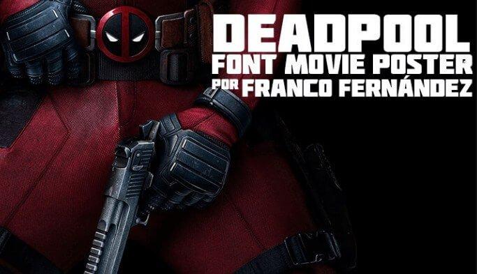 Deadpool Movie Font