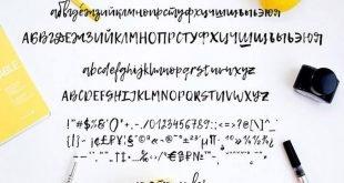 Lemon Font 310x165 - Lemon Tuesday Handwritten Font Free Download