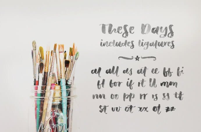 These Days Font