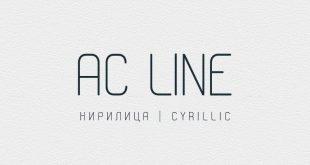 ac line font 310x165 - AC Line Font Free Download