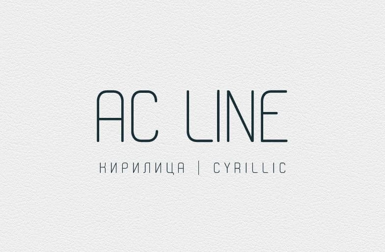 ac line font - AC Line Font Free Download