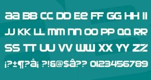 automate font 310x165 - Automata Font Free Download