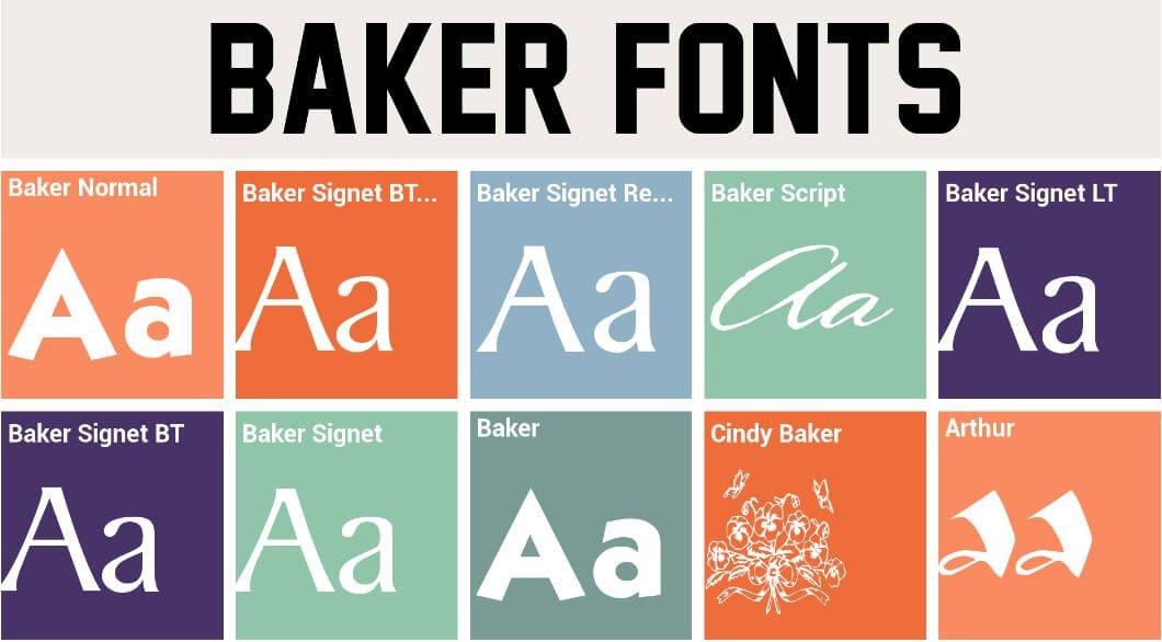 baker font - Baker Signet Font Free Download