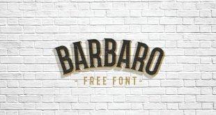barbaro font 310x165 - Barbaro Western Font Free Download