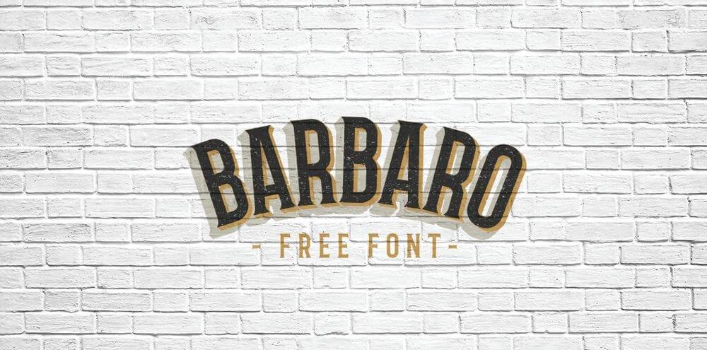 barbaro font - Barbaro Western Font Free Download