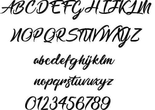 barbarshop font - Barbershop in Thailand Font Free Downlod