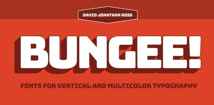 bungee font - Bungee Font Free Download