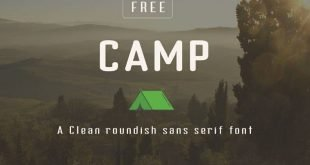 camp font 310x165 - Camp typeface Free Download