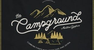 campground font 310x165 - Campground Font Free Download