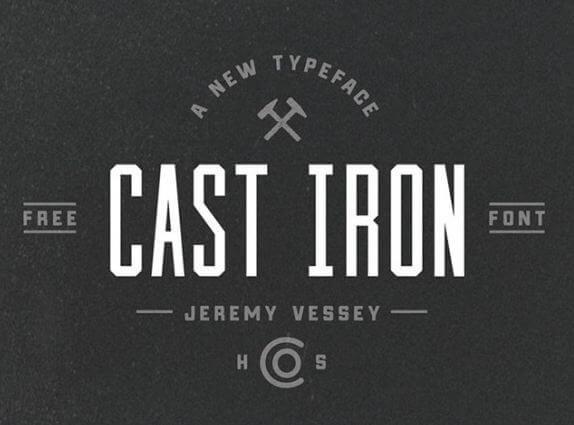 cast iron font - Cast Iron Font Free Download