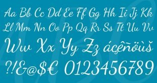dancing script font 310x165 - Dancing Script Font Free Download
