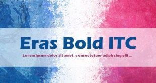 eras bold font 310x165 - Eras Bold Itc Font Free Download