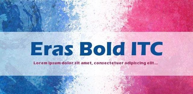 eras bold font - Eras Bold Itc Font Free Download