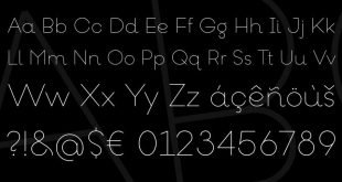 goeslim font 310x165 - Goeslim Ultra Thin Font Free Download
