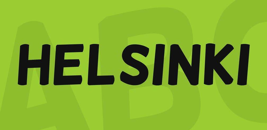 helsinki font - Helsinki Font Free Download