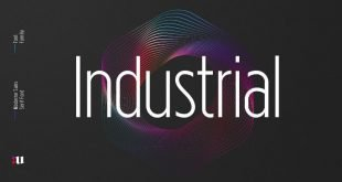 industrial font 310x165 - Industrial Sans Font Free Download