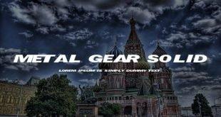metal gear font 310x165 - Metal Gear Solid Font Free Download