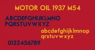 motor font 310x165 - Motor Font Free Download