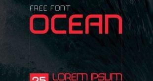 ocean font 310x165 - Ocean Font Free Download