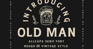oldman font 310x165 - Old Man Typeface Free Download