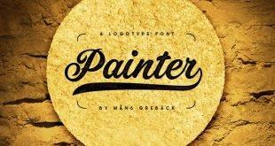 painter font 310x165 - Painter Font Free Download