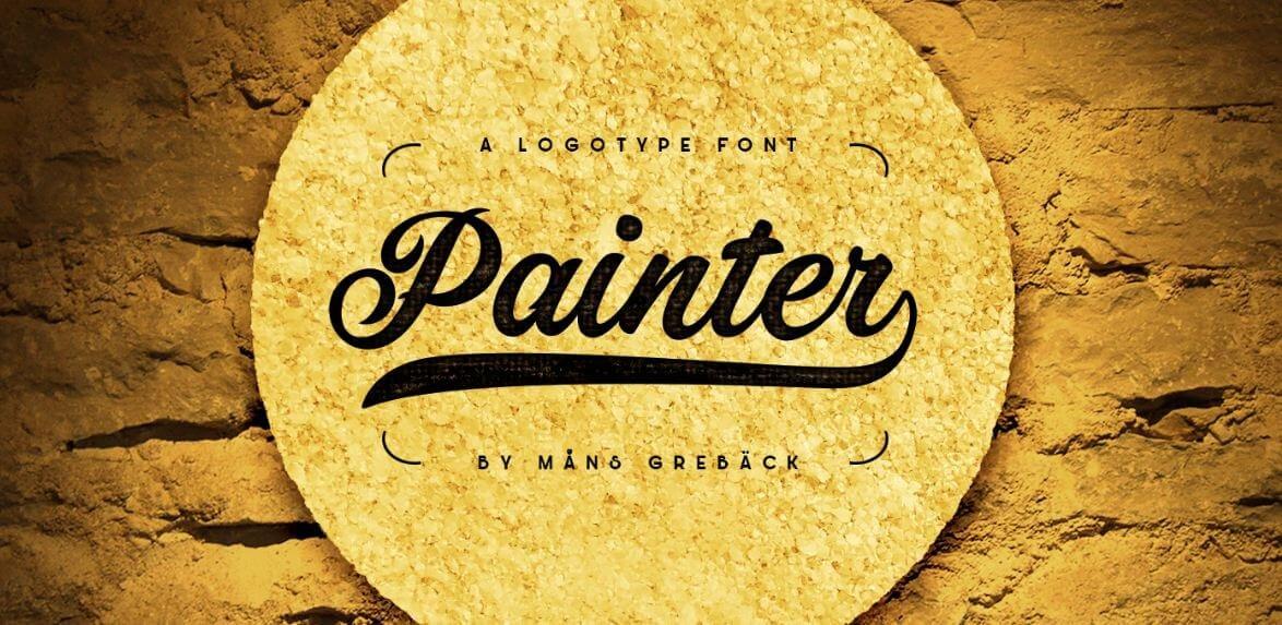 painter font - Painter Font Free Download