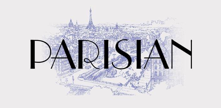 parisian font - Parisian Font Free Download