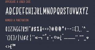 skinny font 310x165 - Skinny Font Free Download