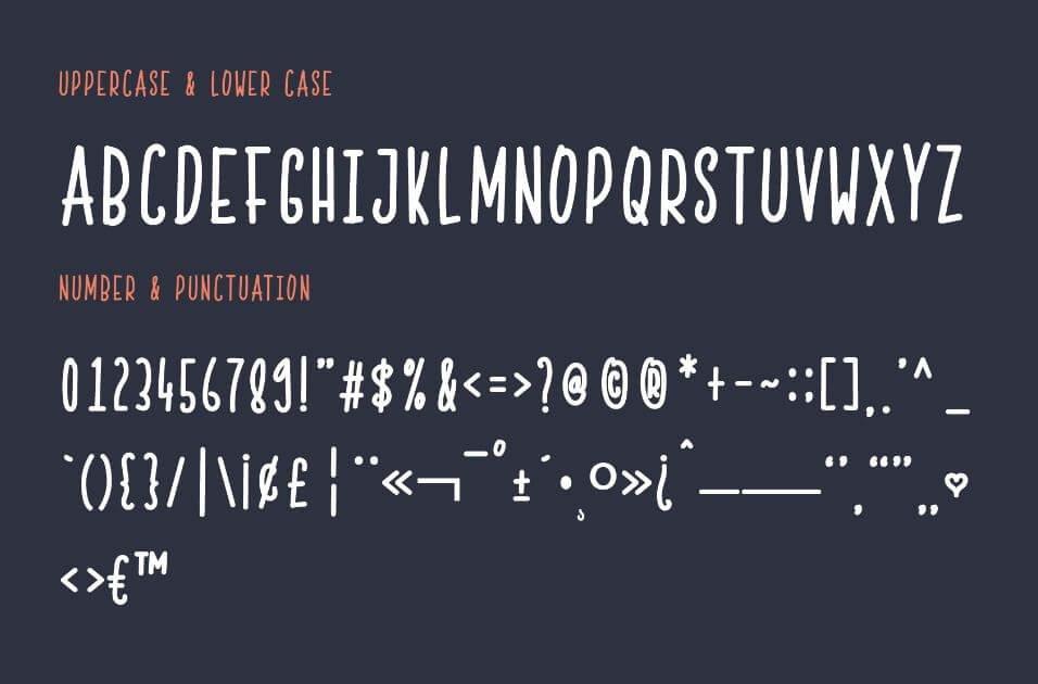 skinny font - Skinny Font Free Download