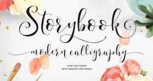 storybook font 310x165 - Storybook Font Free Download