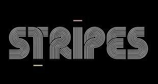 stripes font 310x165 - Stripes Font Free Download