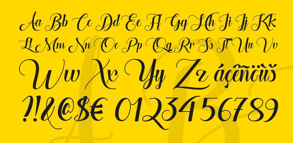 the heart of everything font - The Heart of Everything Font Free Download