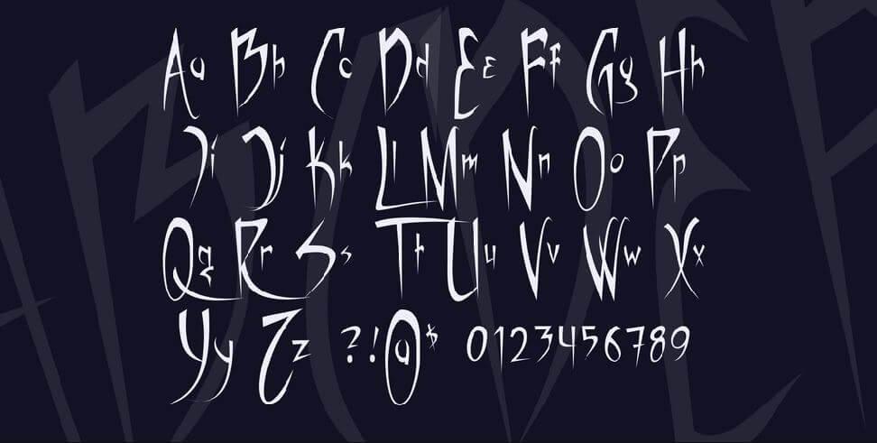vampiress font - Vampiress Font Free Download