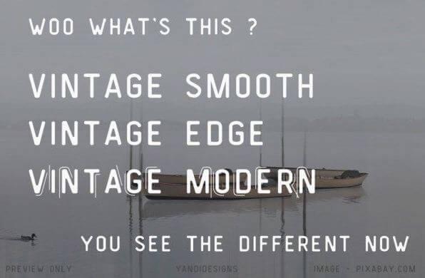 vintage modern font - Vintage Modern Font Free Download