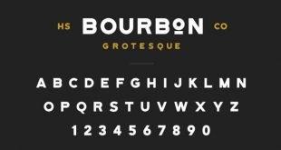 Bourbon font 310x165 - Bourbon Grotesque Font Free Download